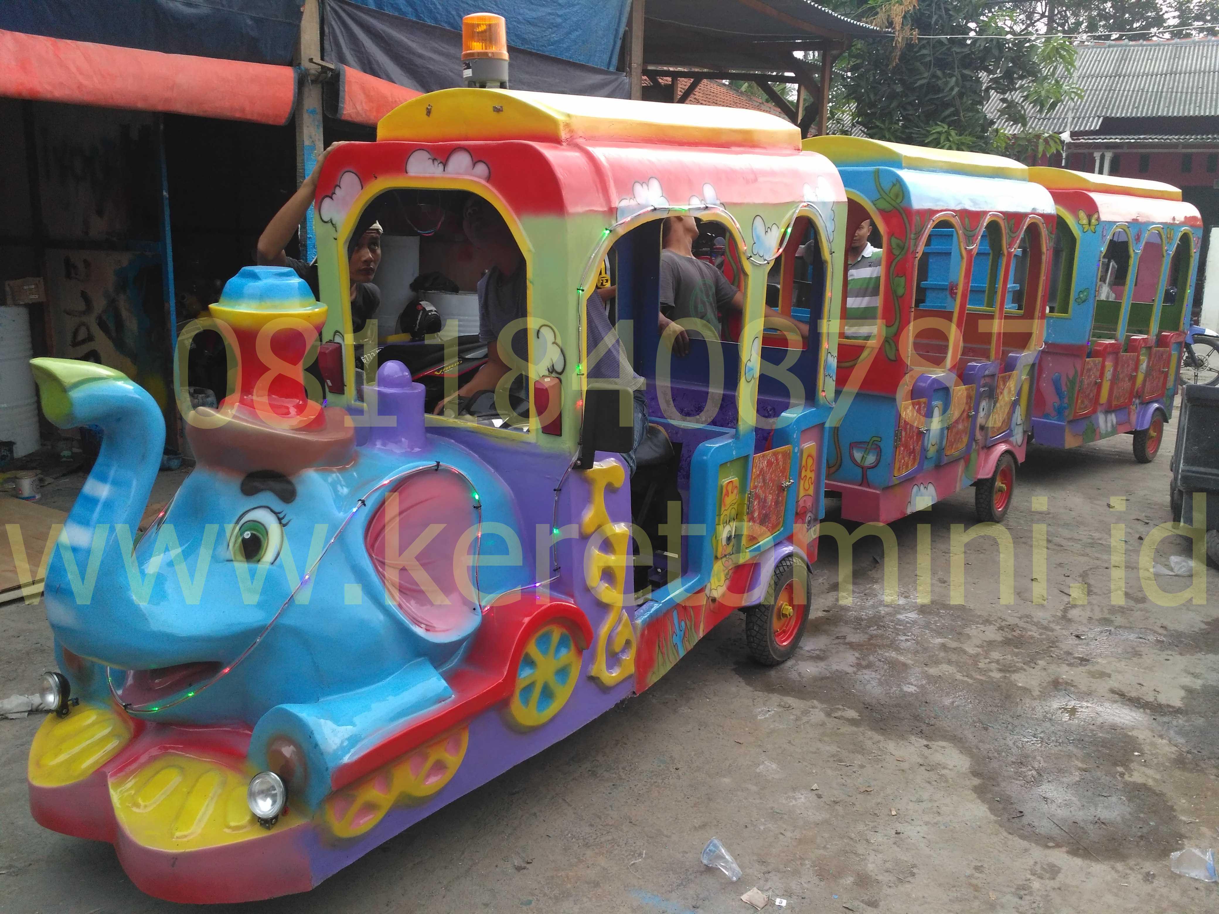 kereta gajah wisata 2