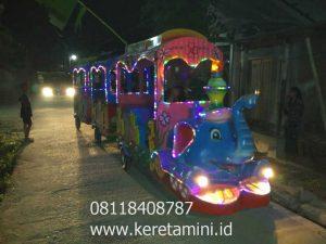 kereta mini gajah rawamangun watermark